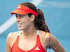 2012 Australian Open - Ana Ivanovic practices / corleve / Mark Peterson