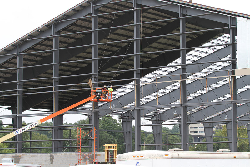 Construction on Indoor Facility