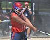 Here we go again.  Tricia Niu swings through on her 2nd 3-RBI home run of the tournament.