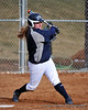 First home-run of the DSU 2012 season, hit by #21 Jessica Huseby for 3-RBI!