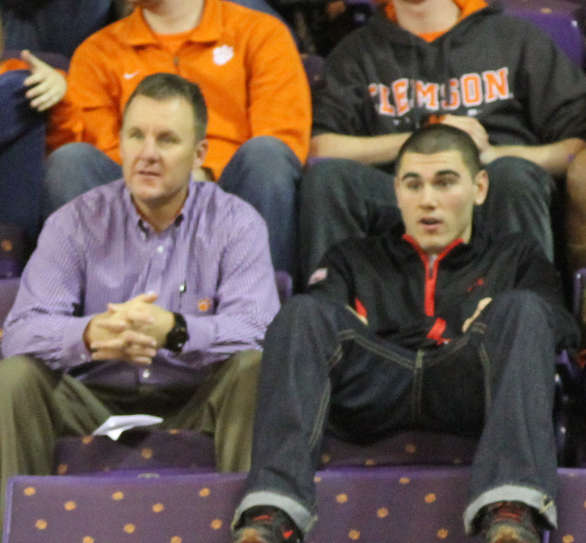 Coach Morris and Chad Kelly