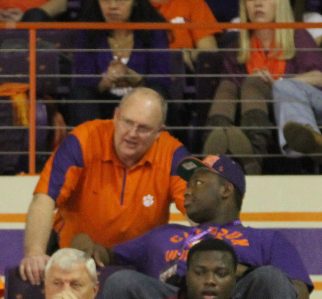 Coach Caldwell and Brandon Smith