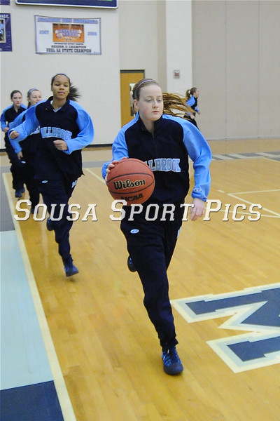 Girls Handley vs Millbrook 1.28.14
