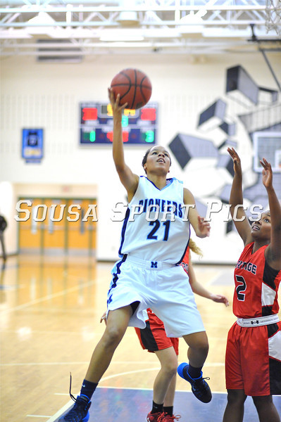Heritage vs Millbrook Girls Varsity 12.11.13