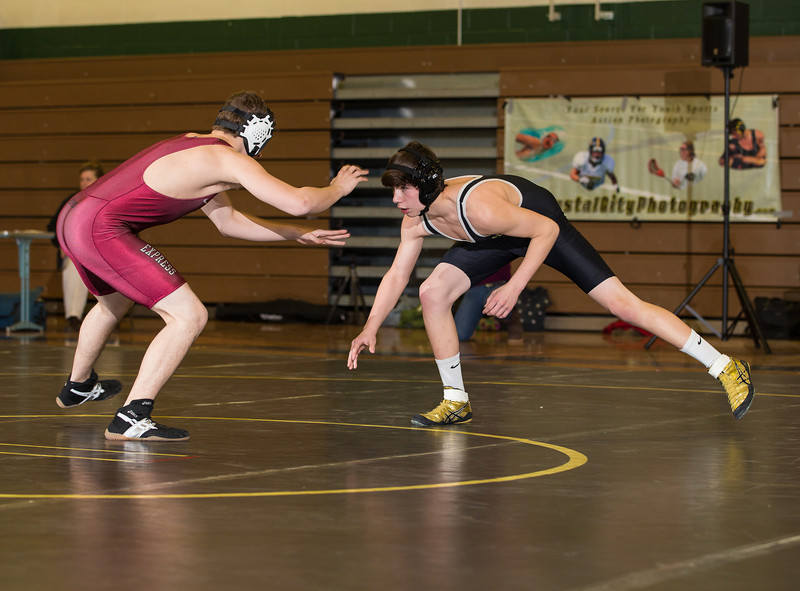 High School Wrestling, Elmira Express at Corning Hawks. January 21, 2014.