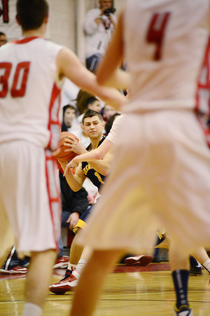 A Shenango player feels the pressure. — Tiffany Wolfe