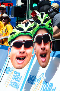 Peter Sagan has some fans in attendance. :-)