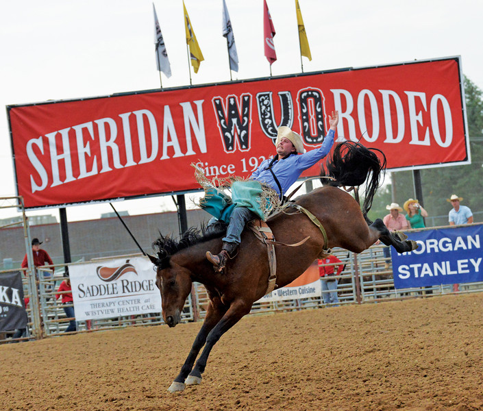 Wednesday at the 83rd Sheridan-Wyo-Rodeo. (Brad Estes)