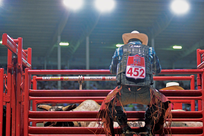 Thursday at the 83rd Sheridan-Wyo-Rodeo. (Brad Estes)