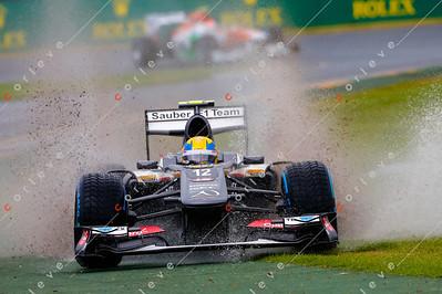 2013 Australian F1 GP - Esteban Gutierrez