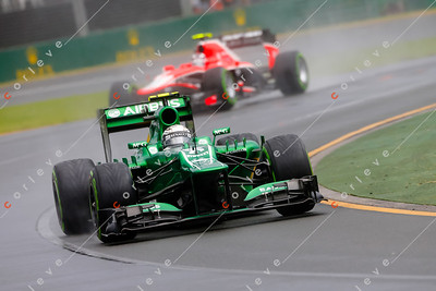 2013 Australian F1 GP - Giedo van der Garde
