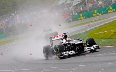 2013 Australian F1 GP - Pastor Maldonado