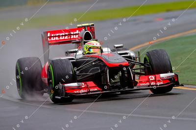 2013 Australian F1 GP - Sergio Perez