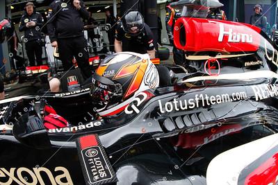 2013 Australian F1 GP - Kimi Raikkonen