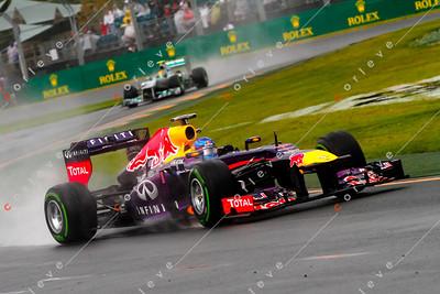 2013 Australian F1 GP - Sebastian Vettel