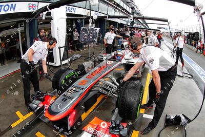 2013 Australian F1 GP - Jenson Button