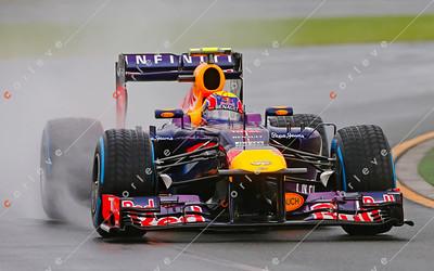 2013 Australian F1 GP - Mark Webber