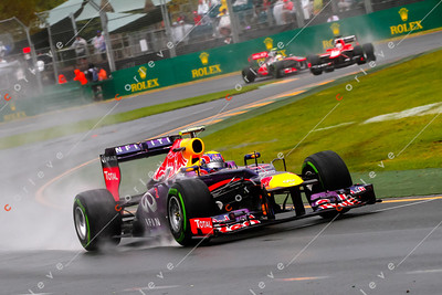 2013 Australian F1 GP - Mark Webber
