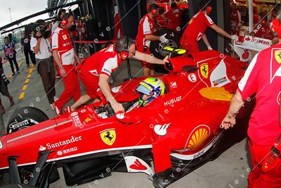 2013 Australian F1 GP - Felipe Massa