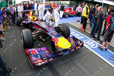2013 Australian F1 GP - Vettel's car post race