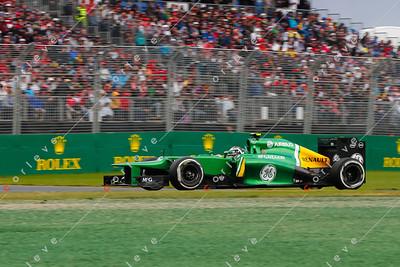 2013 Australian F1 GP - Caterham
