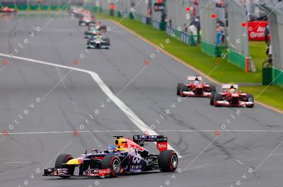2013 Australian F1 GP