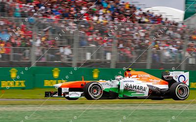 2013 Australian F1 GP - Adrian Sutil