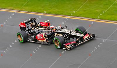 2013 Australian F1 GP - Romain Grosjean