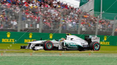 2013 Australian F1 GP - Lewis Hamilton