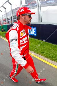 2013 Australian F1 GP - Fernando Alonso