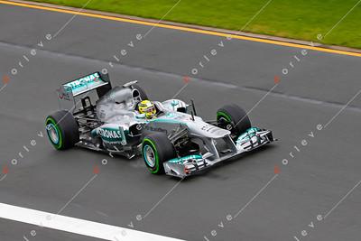 2013 Australian F1 GP - Nico Rosberg