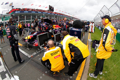 2013 Australian F1 GP - Red Bull Racing