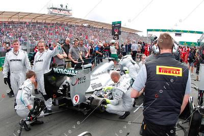 2013 Australian F1 GP - Petronas Mercedes