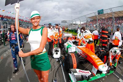 2013 Australian F1 GP - Force India