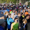 Record-Eagle/Keith King<br /> Runners prepare Saturday, May 25, 2013 for the start of the 31st annual Bayshore Marathon.