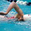 "Fairview High School's Abigail Houck wins the 200-yard freestyle during the Boulder County Invitational swim meet at the Veterans Memorial Aquatic Center in Thornton. For more photos of the meet go to  <a href=""http://www.dailycamera.com"">http://www.dailycamera.com</a><br /> Jeremy Papasso/ Camera"