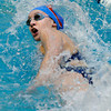 """Centaurus High School's Erin Jenkins competes in the 100-yard freestyle event during the Boulder County Invitational swim meet at the Veterans Memorial Aquatic Center in Thornton. For more photos of the meet go to  <a href=""""http://www.dailycamera.com"""">http://www.dailycamera.com</a><br /> Jeremy Papasso/ Camera"""