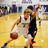 Mount Vernon Tigers vs Chapel Hill Red Devils basketball game 1-24-14