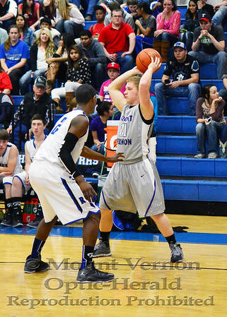 Varsity Tigers vs Rivercrest Rebels 1-31-14