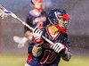 Boys Varsity Lacrosse.  Binghamton Patriots at Corning Hawks. April 10, 2013.
