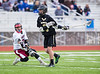 Boys High School Varsity Lacrosse, Corning Hawks at Elmira Express.  April 20, 2013.