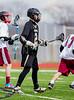 Boys High School Varsity Lacrosse, Corning Hawks at Elmira Express.  April 20, 2013.