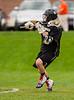 Boys High School Varsity Lacrosse.  Corning Hawks at Horseheads Blue Raiders.  April 30, 2013.