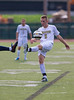 High School Boys Varsity Soccer.  Notre Dame Crusaders at Corning Hawks.  August 30, 2013.
