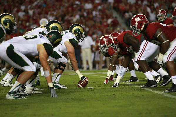 CSU vs. Alabama Football 2013