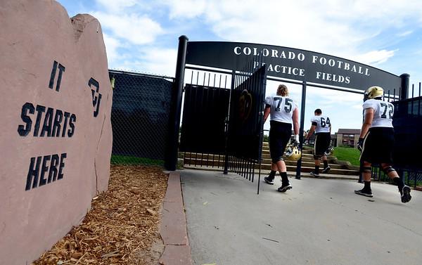 Colorado Football August 23, 2013