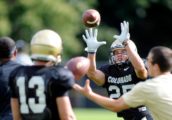 Colorado Football August 23, 2013