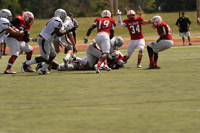 2013 CCC Red Raven football