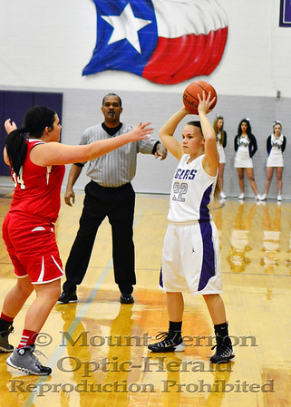 Varsity Lady Tigers vs Paris Chisum Lady Mustangs 1-28-14