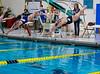 Girls High School Swimming and Diving. Binghamton Patriots at Corning Hawks.  September 27, 2013.